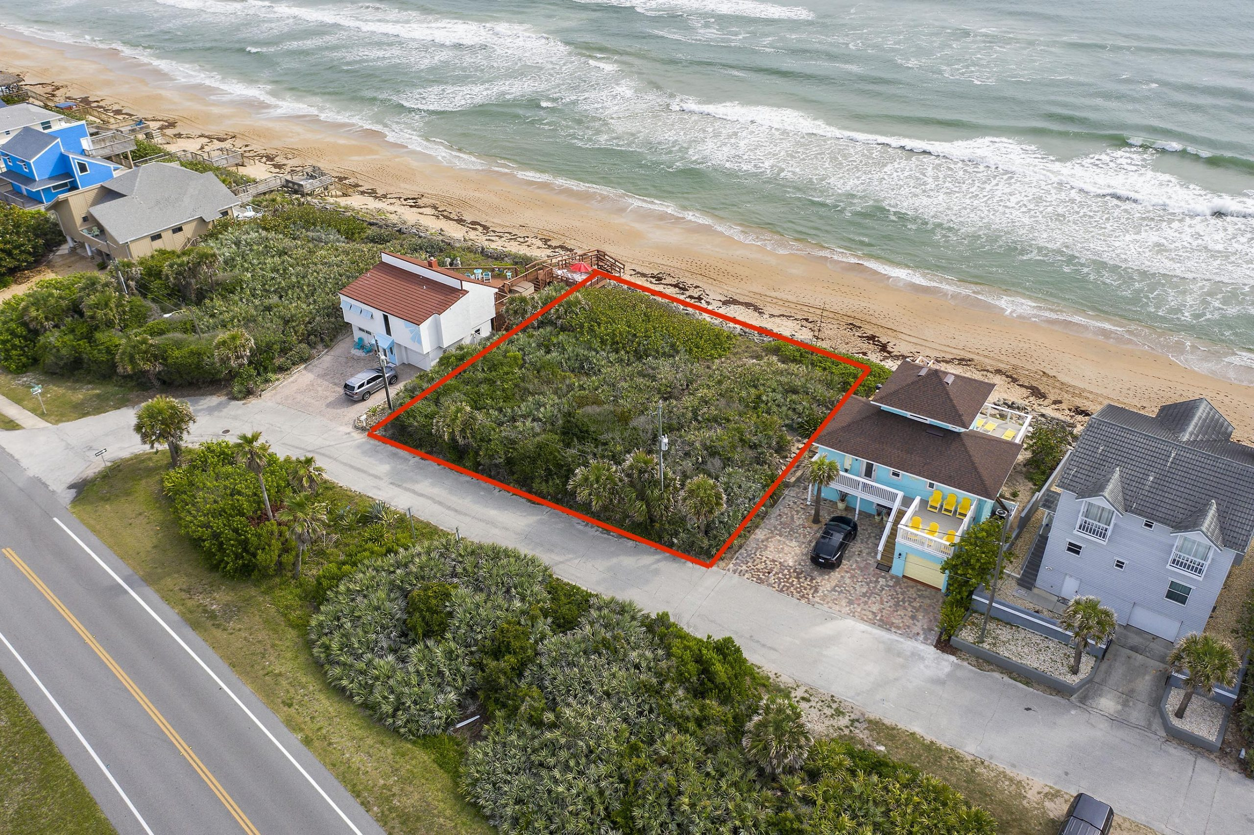 RARE 100′ Oceanfront Lot – 6017 S Atlantic Ave